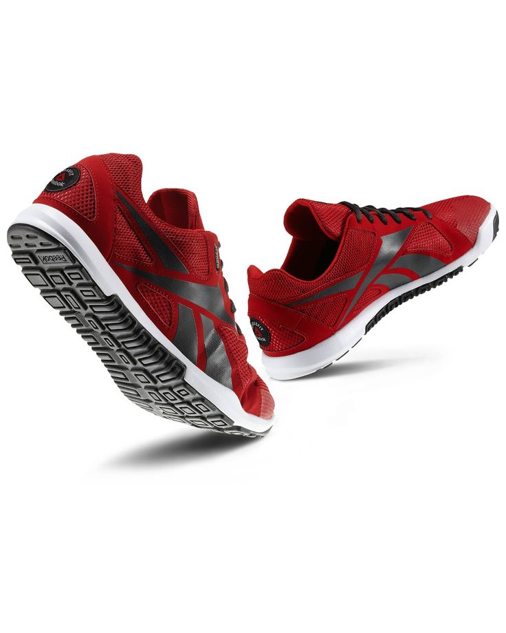 Mens Reebok CrossFit Nano: U-Form/ May have to get these for red crossfit outfits and Group Power classes;)