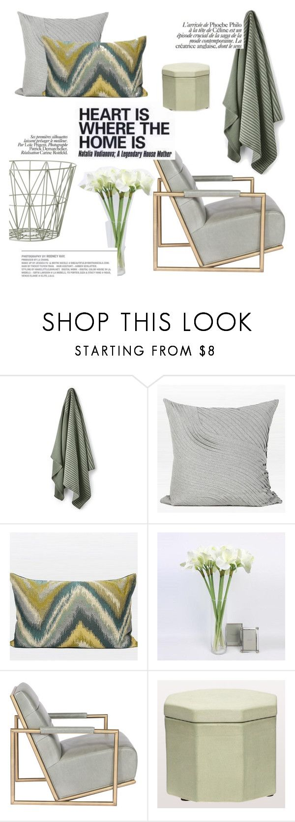 """heart is where the home is"" by ghomecollection on Polyvore featuring interior, interiors, interior design, home, home decor, interior decorating and ferm LIVING"