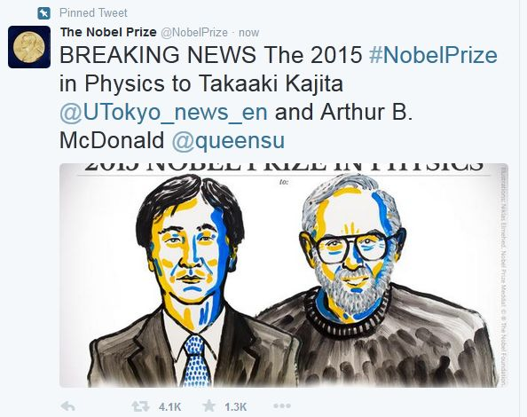 26 Best NOBEL PRIZE 2015 2016 Images On Pinterest