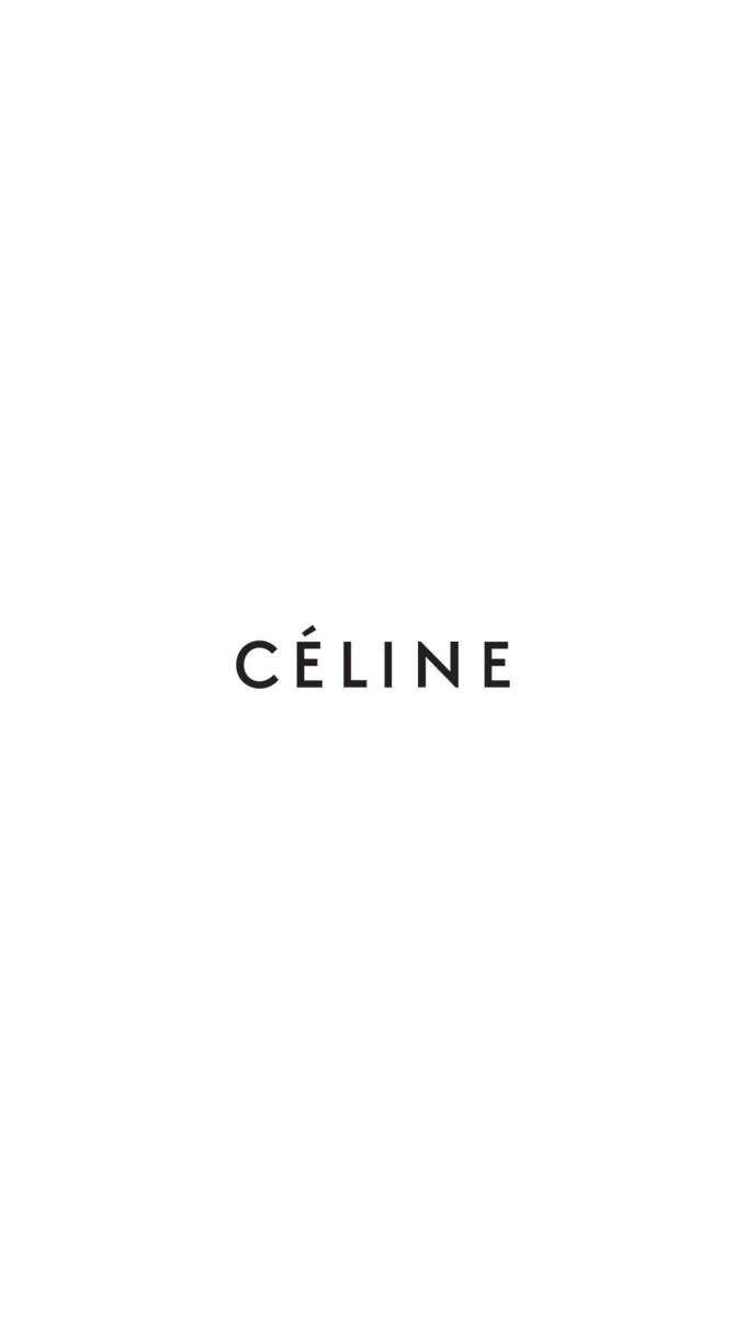 セリーヌ/シンプルロゴ iPhone壁紙 Wallpaper Backgrounds iPhone6/6S and Plus CÉLINE