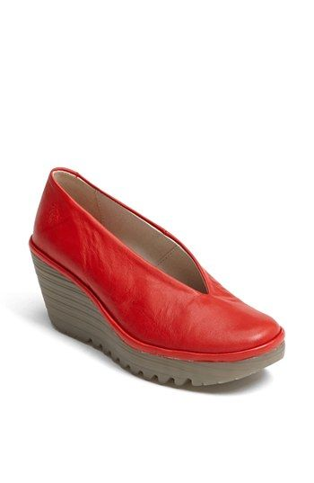Fashionable Comfort Shoes: Fly London Yaz Wedge Pump