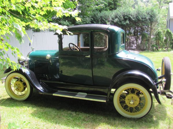 1929 Ford model A Coupe & 127 best Ford Model A images on Pinterest | Old cars Vintage cars ... markmcfarlin.com