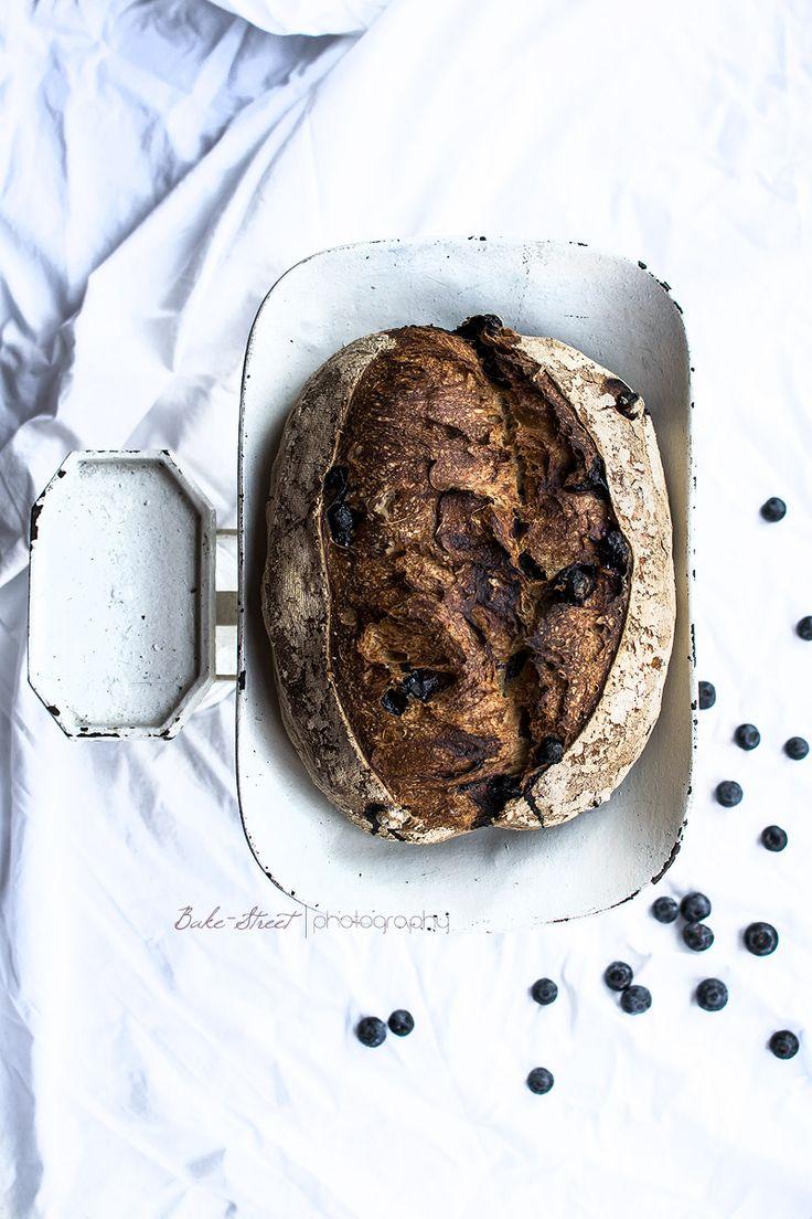 Pan de yogurt griego y arándanos - Bake-Street.com