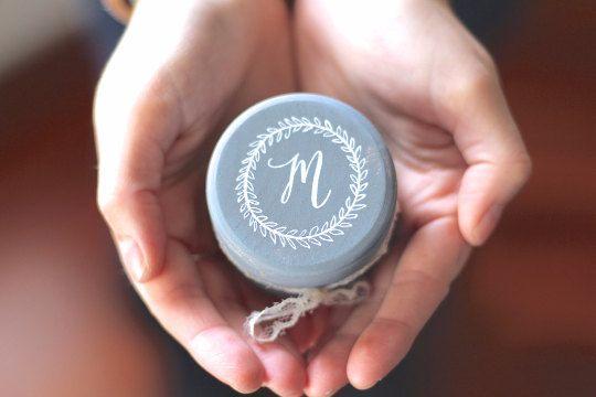 Ring Bearer Box mit Spitzen Hochzeit-Monogramm von DesignLifeStudio