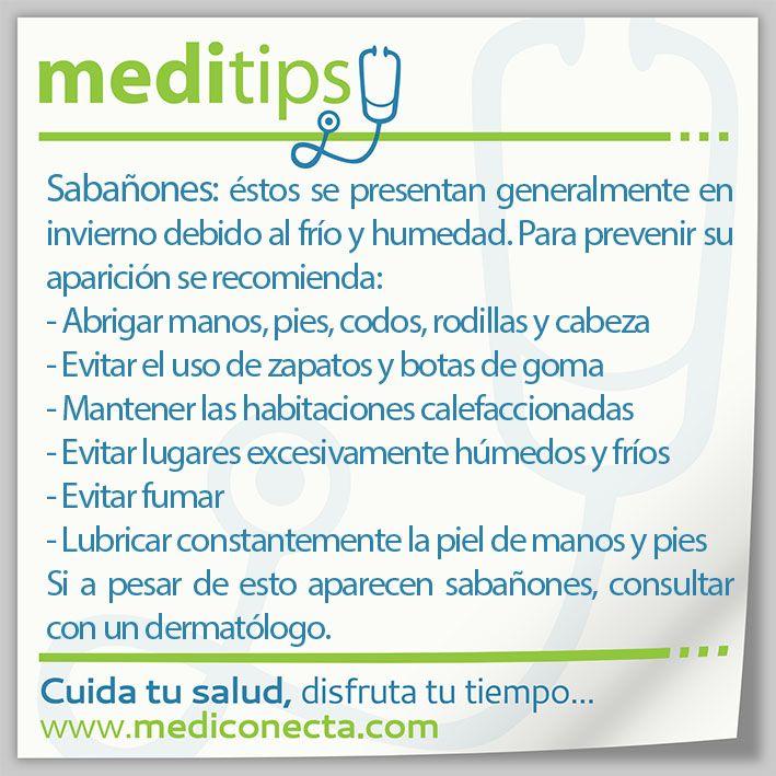 Sabañones: Recomendaciones para prevenirlos.