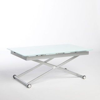 Manhattan Rectangle Adjustable Height Dining and Coffee Table  