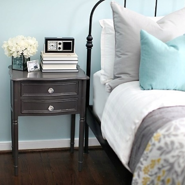 15 best yellow grey aqua bedroom images on pinterest for Yellow blue and grey bedroom