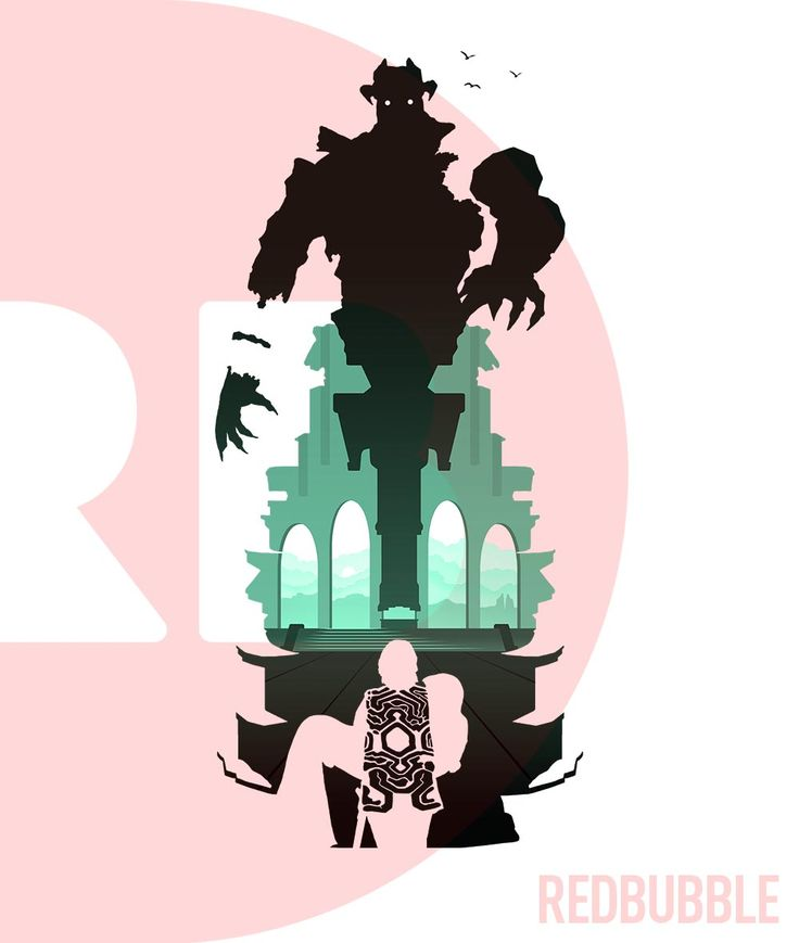 Shadow of the Colossus - Malus silhouette t-shirt by Roland 92