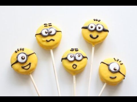 Φτιάξτε minnions cookie-pops που δεν χρειάζονται ψήσιμο!(Βίντεο) -