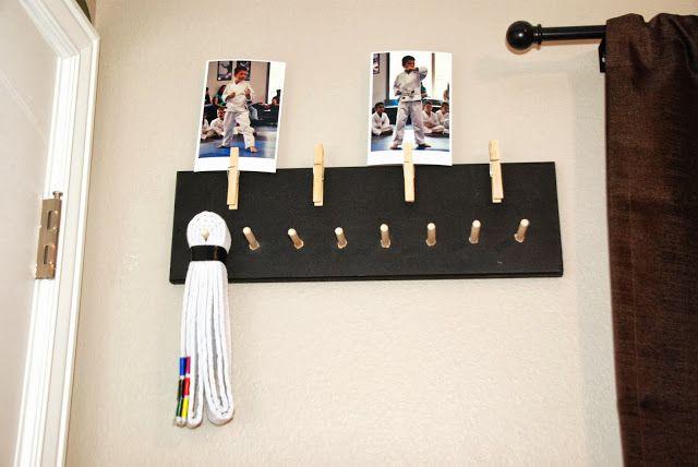 Karate Belt Display plus pictures