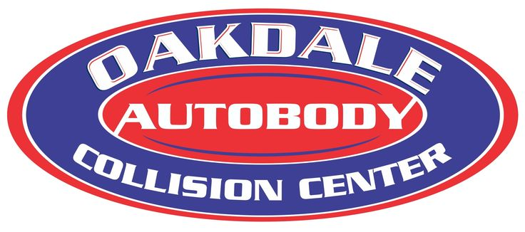Oakdale Collision Center Logo  #logodesign #logoexamples