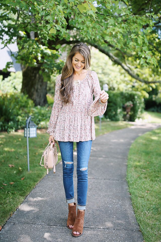 transitional outfit for fall - all from @nordstromrack!