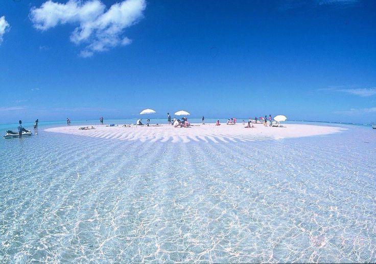 Yurigahama Beach, Yoron Island, Kagoshima Prefecture, Japan