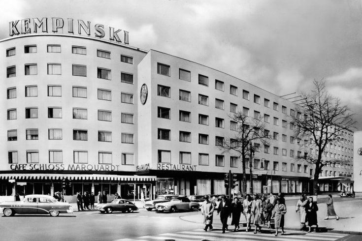 Hotel Kempinsky und Fasanenstrasse 60er Jahre
