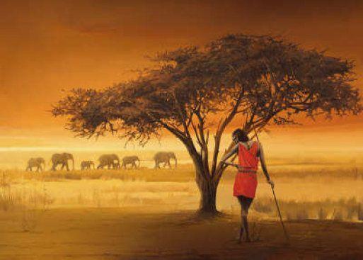 Artist Danilu - Laminas africanas.  Aprender manualidades es facilisimo.com