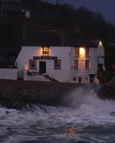 Ship Inn, Porthleven, Cornwall.  One of the best times I've ever had in a pub!