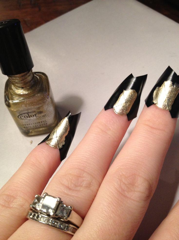 DIY nail design!!!!