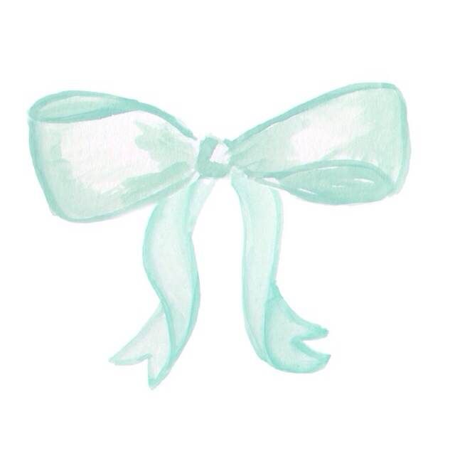 New watercolor bow