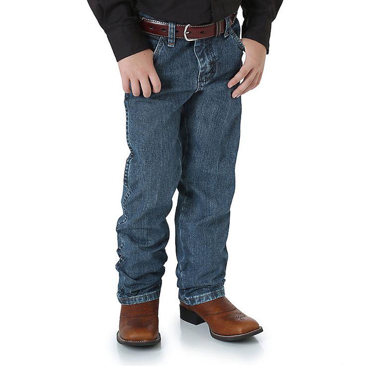 Wrangler Toddler Boys' Cowboy Cut Original Fit 1to7 (Size: 2T Regular)