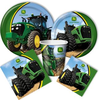 """Get an additional 10% off John Deere Party Supplies when you enter code """"TRACTOR10"""" at checkout!"""