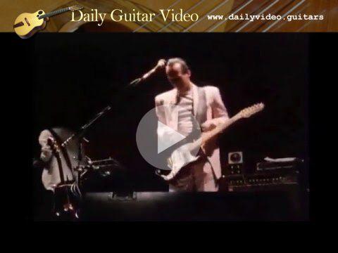 "King Crimson - Matte Kudasai - http://dailyvideo.guitars/king-crimson-matte-kudasai/ -  Adrian Belew with King Crimson plays ""Matte Kudesai"" in 1982."
