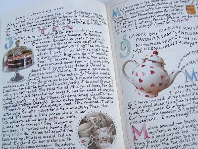 "Tea With Friends: ""A Fine Romance"" by Susan Branch"