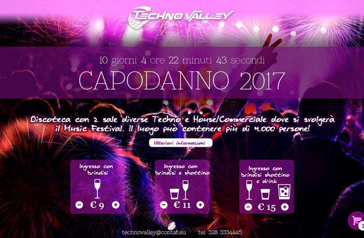 Countdown capodanno per locali notturni