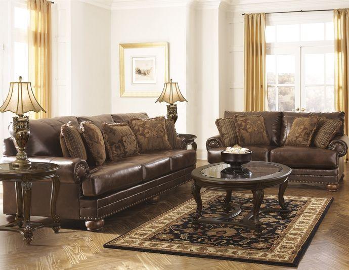 Best Ashley Furniture 99200 38 35 2 Pc Durablnd Collection 400 x 300