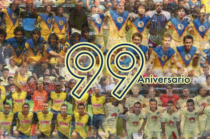 ¡Felicidades  @CF_America! #CFA99 #99AñosDeGrandeza