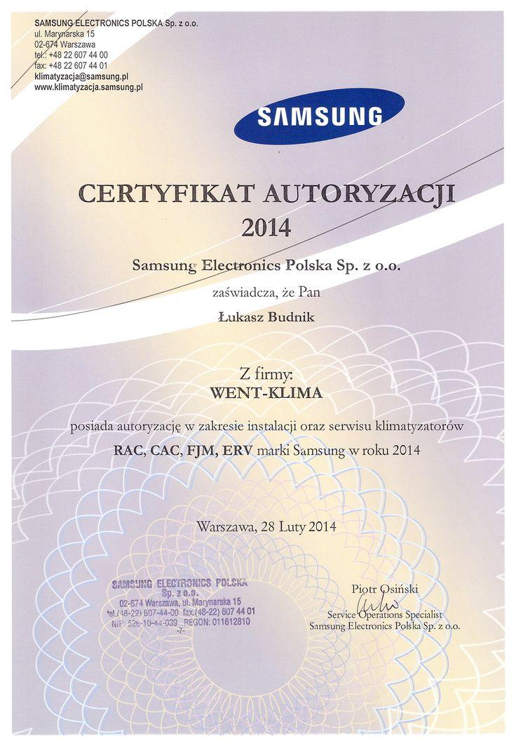 Szkolenie serwisowe z firmy Samsung