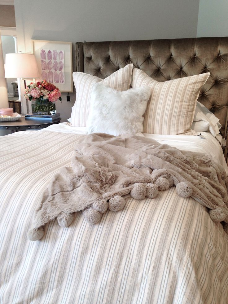 1000 images about pom pom at home pom pom interiors on for Fur headboard