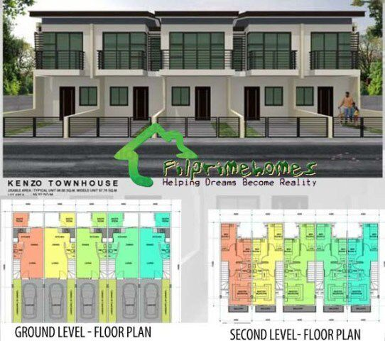 Image from for Apartment townhouse plans