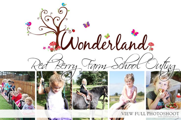 Wonderland Daycare Red Berry Farm Outing