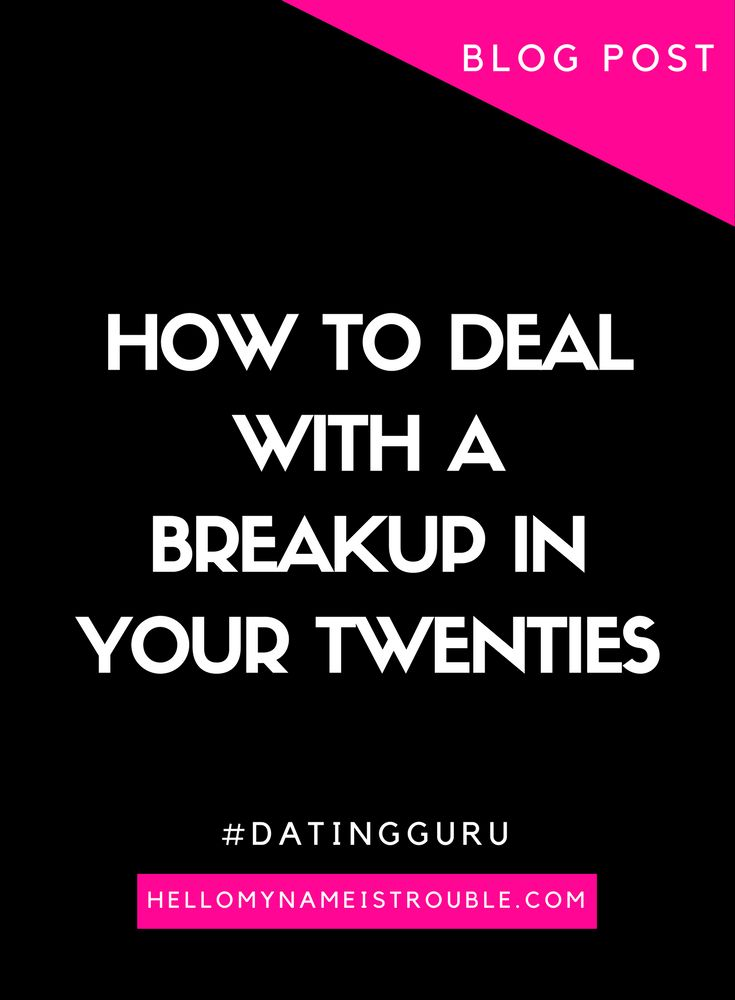 Online dating breakups