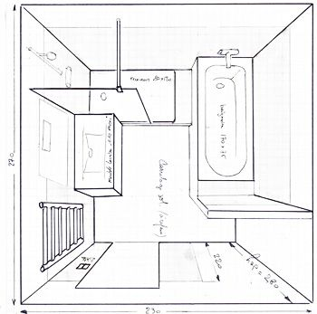 25 best ideas about salle de bain 6m2 on pinterest plans plan d am nageme - Plan salle de bain 6m2 ...