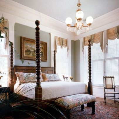 41 best images about plantation homes interior on for Plantation style bed