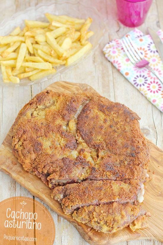 Cachopo asturiano, ¡un empanado de ternera delicioso!
