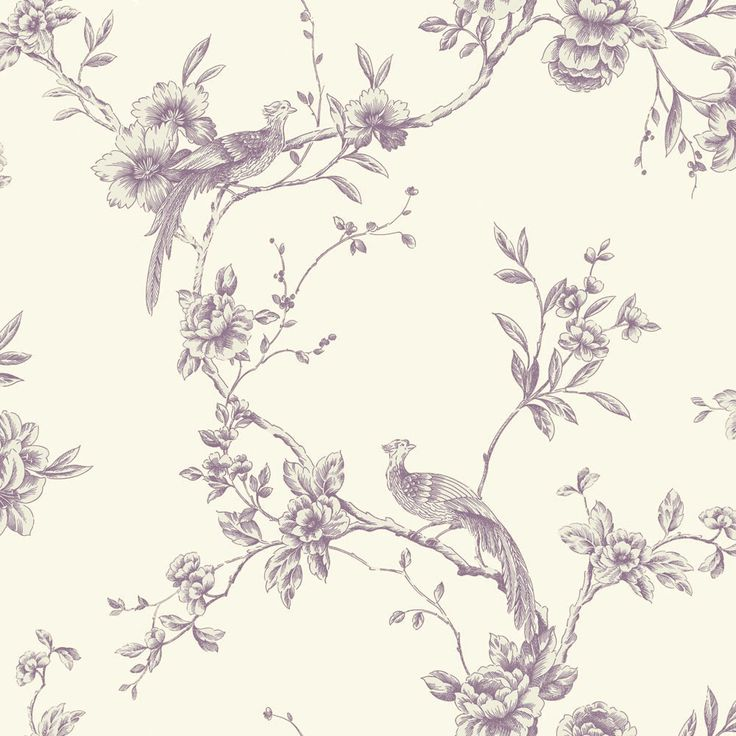 Chinoise Plum wallpaper by Arthouse