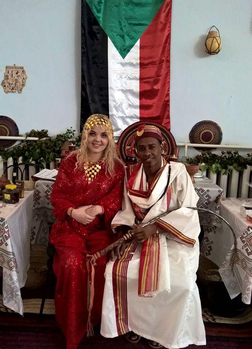 National Dress Of Sudan Men Prefer Loose Fitting Robes