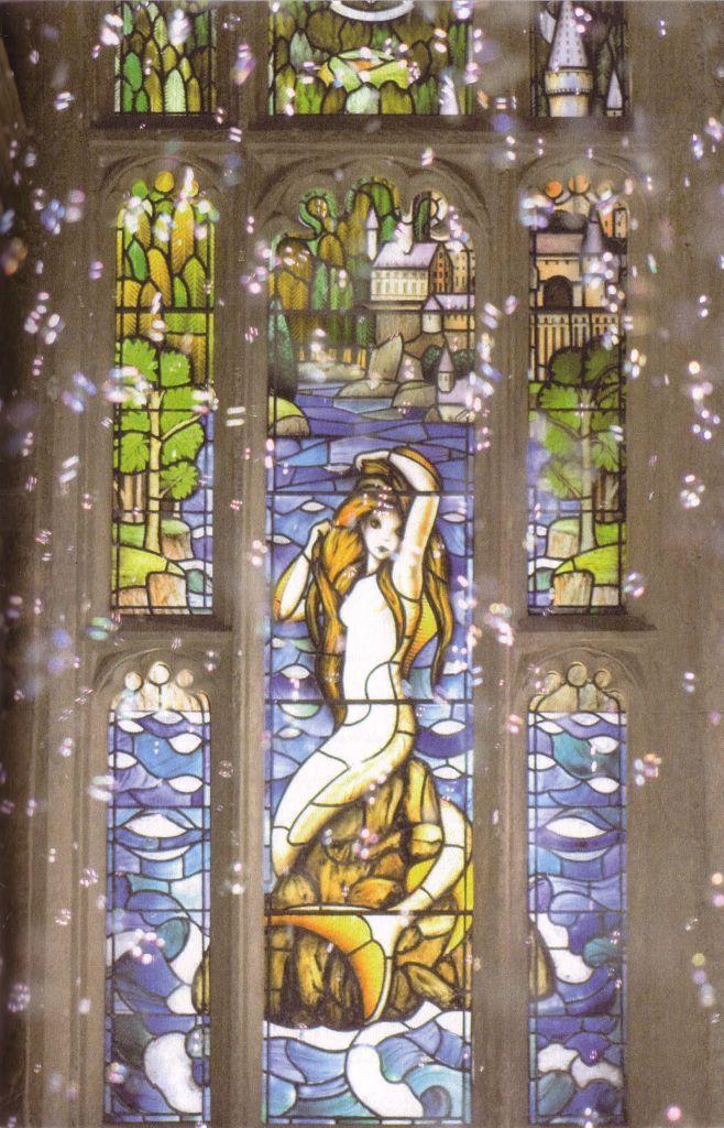 Mermaid Window In Prefects Bathroom Harry Potter