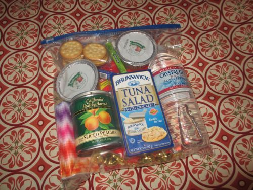 Homeless Care Packs - $5 per package... can really bless someone! - would love to do something like this