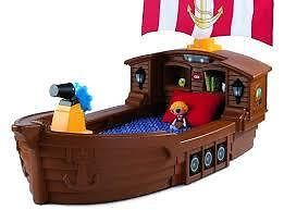 LITTLE TIKES - PIRATE SHIP TODDLER BED - Drift to sleep and sail the seas