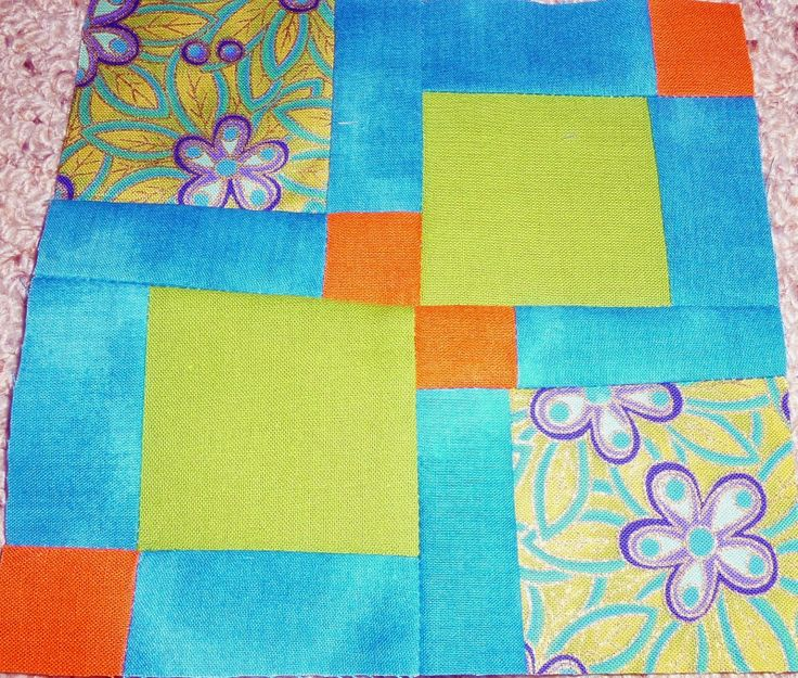 Jo C's disappearing 9 patch block for Beverly