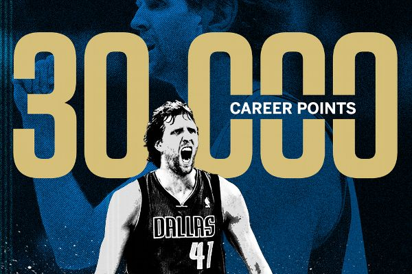 Medyascope ///  NBA'de 19. hafta: Dirk Nowitzki 30.000 oldu