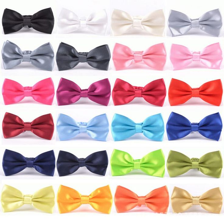 Butterfly Cravat Bowtie Male Solid Color Bow Ties For Men #jewelry, #women, #men, #hats, #watches, #belts