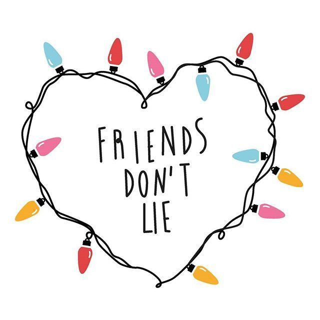 Fans de Stranger Things pronto tendremos diseños nuevos, al loro!👀  Friends don´t lie  www.selebritieshop.com