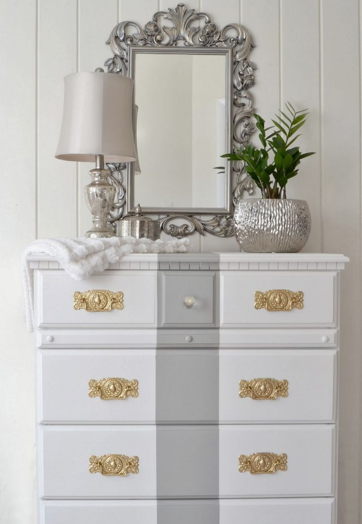 DIY thrift store dresser makeover! This site has tons of great ideas on how to update old furniture on a budget!