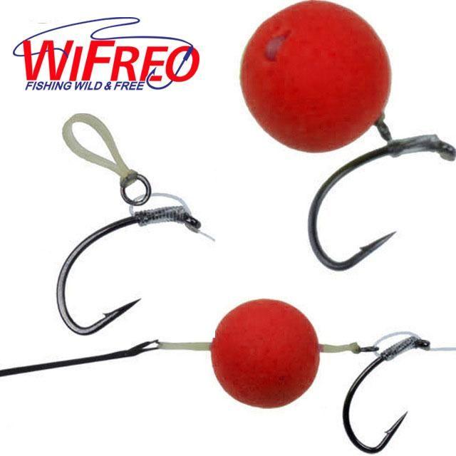 400 pcs Fishing Nano Pellet Bands For Baits 2-12mm Bait Bands Carp Tackle