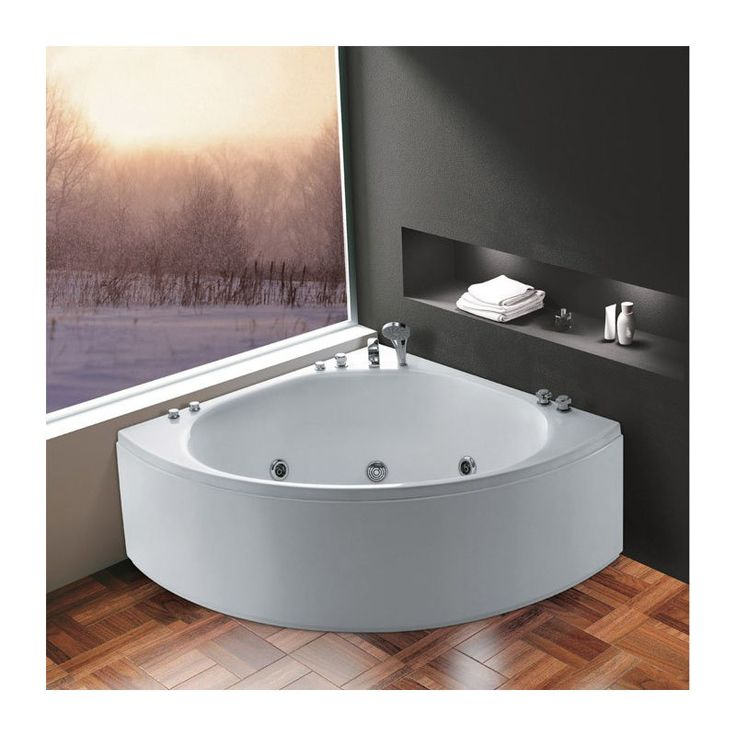 whirlpool badewanne eckbadewanne wanne acrylwanne antillen 140 x 140 x 65 cm - Whirlpool Badewanne Designs Jacuzzi