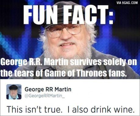 Misunderstood G. R. R. Martin